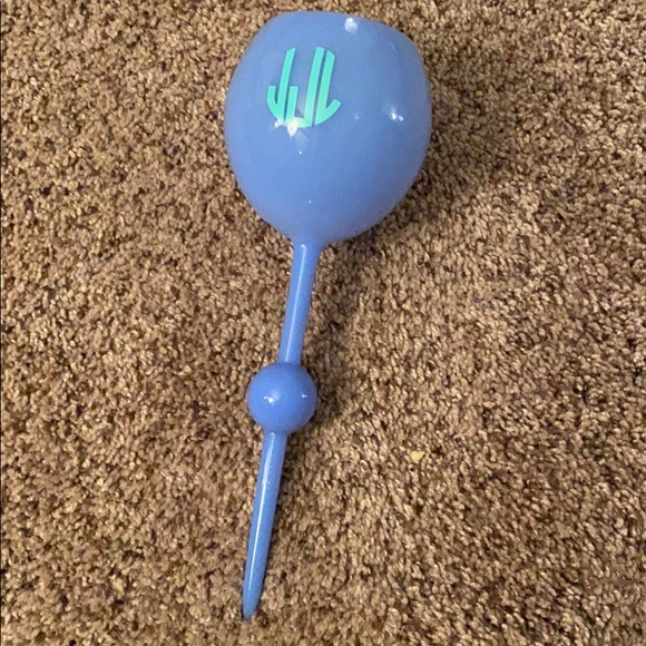 Beach wine glass spike- decal can be removed JJL